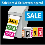 Stickers op rol SR-027