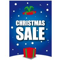 christmas sale poster VA-0107
