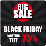 Black Friday Raamsticker BF-014