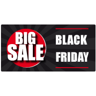 Black Friday Sale Raamsticker BF-022