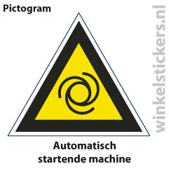 Pictogram 5 stuks 'machine' PICTO-130