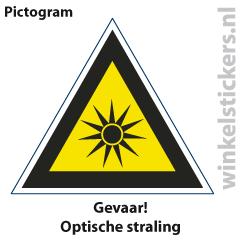 Pictogram 5 stuks 'gevaar' PICTO-137