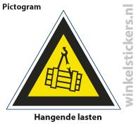 Pictogram 5 stuks 'lasten' PICTO-103