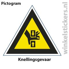 Pictogram 5 stuks 'knelling' PICTO-136