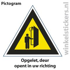 Pictogram 5 stuks 'deur' PICTO-140