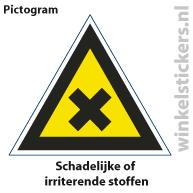 Pictogram 5 stuks 'stoffen' PICTO-111