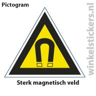 Pictogram 5 stuks 'magnetisch' PICTO-106