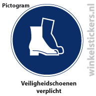 Pictogram 5 stuks 'schoenen' PICTO-172