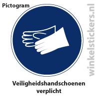 Pictogram 5 stuks 'handschoenen' PICTO-173