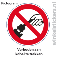 Pictogram 5 stuks 'kabel' PICTO-021