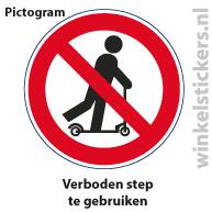 Pictogram 5 stuks 'step' PICTO-019