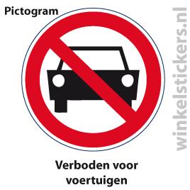 Pictogram 5 stuks 'voertuigen' PICTO-153