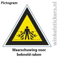 Pictogram 5 stuks 'waarschuwing' PICTO-123