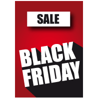 Black Friday sale poster BF-028