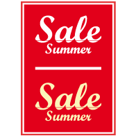 Poster sale summer PO-005