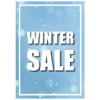Poster winter sale PO-023