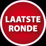 Raamsticker laatste ronde CI-0018