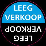 Raamsticker leegverkoop CI-0031