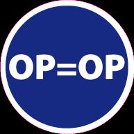 Vloersticker op=op rond VLCI-0016