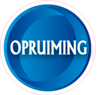 Raamsticker opruiming CI-0036
