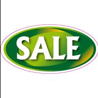 Raamsticker sale OV-0005