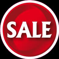 Raamsticker sale CI-0039