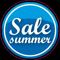 Raamsticker sale summer CI-0034