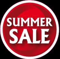 Raamsticker summer sale CI-0042