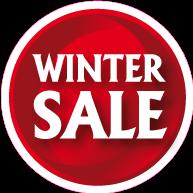 Raamsticker winter sale CI-0040