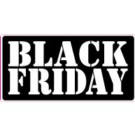 Raamsticker Black Friday RE-0018