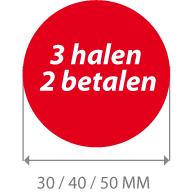 productstickers 3 halen 2 betalen STV-022