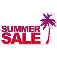 Raamsticker summer sale VA-0032