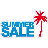 Raamsticker summer sale VA-0033