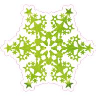 Raamsticker ijsster VA-0067