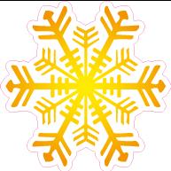 Raamsticker ijsster VA-0068