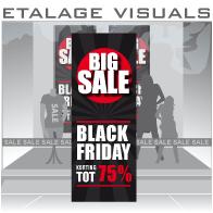 etalage visual Black Friday BF-023