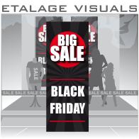 etalage visual Black Friday BF-024