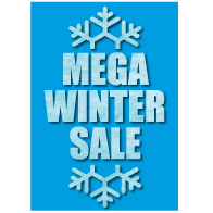 Poster mega winter sale PO-028