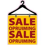 Raamsticker sale opruiming VA-0043