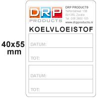 autostickers koelvloeistof ETI-024