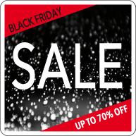 Black Friday Sale Raamsticker BF-011