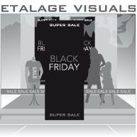 etalage black friday Super Sale BF-016