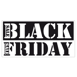 Black Friday Sale Raamsticker BF-001