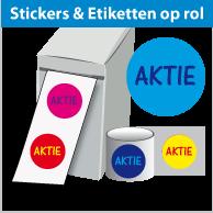 Stickers op rol SR-020