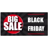 Black Friday Sale Raamsticker BF-022