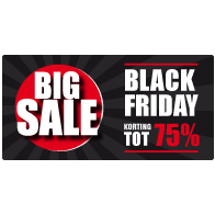 Black Friday Sale Raamsticker BF-021
