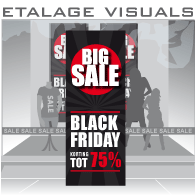 etalage visual Black Friday BF-023