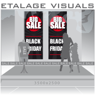 etalage visual Black Friday BF-024
