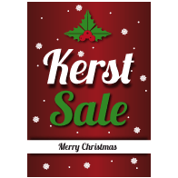 Poster kerst sale PO-020