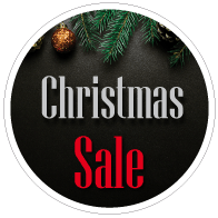 Raamsticker christmas sale CI-0056
